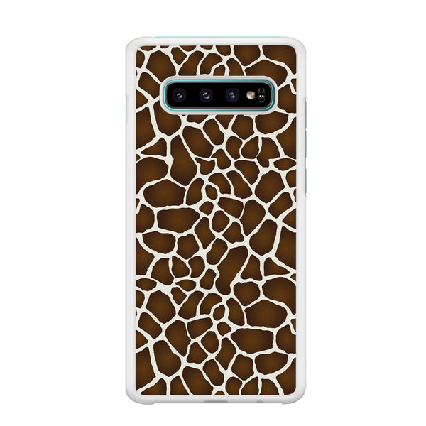 Animal Skin Giraffe Samsung Galaxy S10 Plus Case