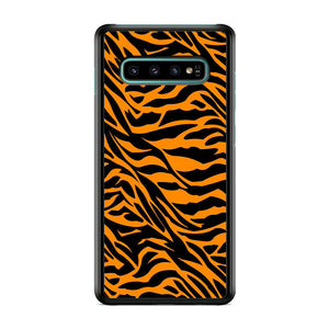 Animal Skin Tiger Samsung Galaxy S10 Case