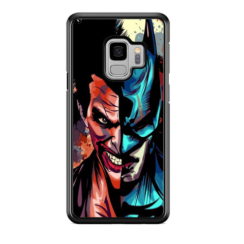 Batman Half Face Joker Samsung Galaxy S9 Case
