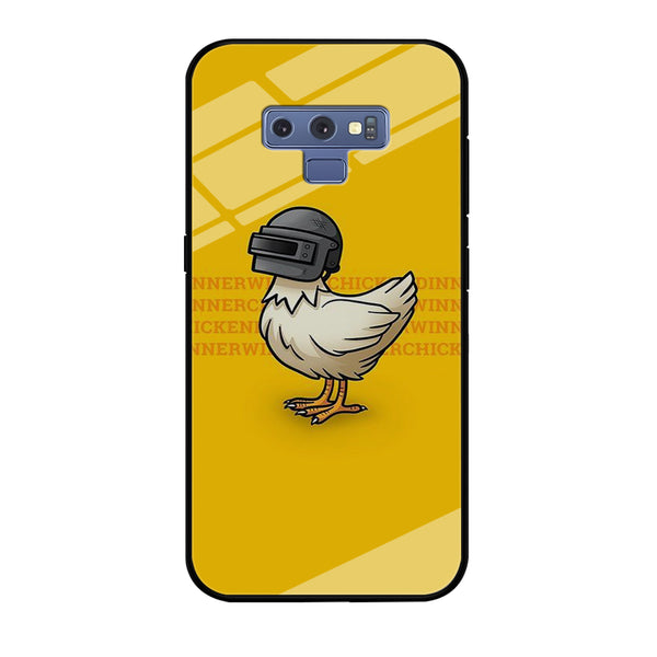 Battle Grounds Chiken Winner Helmet Lv.3 Samsung Galaxy Note 9 Case