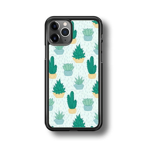 Cactus In The Rain iPhone 11 Pro Case