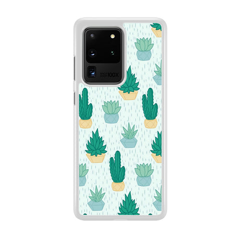 Cactus In The Rain Samsung Galaxy S20 Ultra Case
