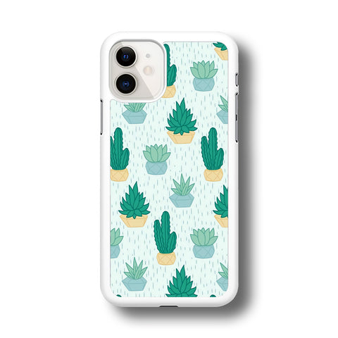 Cactus In The Rain iPhone 11 Case