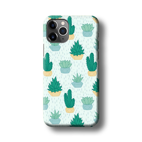 Cactus In The Rain iPhone 11 Pro Max Case