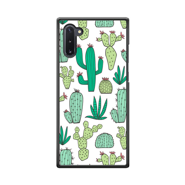 Cactus Various Plants Samsung Galaxy Note 10 Case
