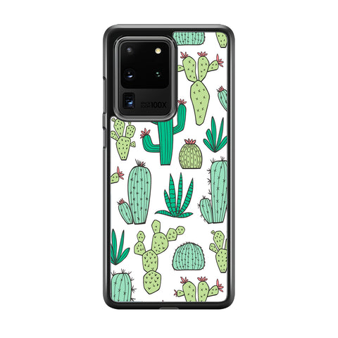 Cactus Various Plants Samsung Galaxy S20 Ultra Case