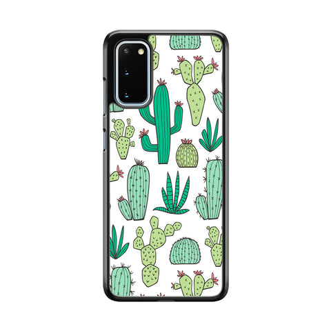 Cactus Various Plants Samsung Galaxy S20 Case