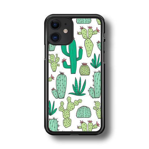 Cactus Various Plants iPhone 11 Case