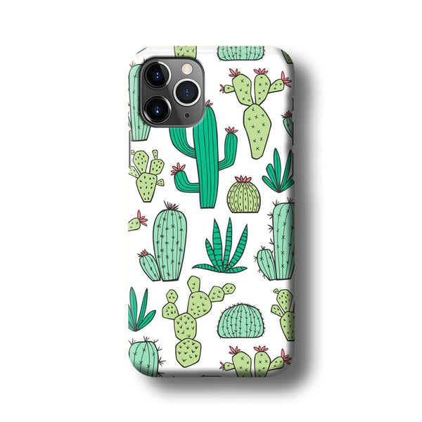 Cactus Various Plants iPhone 11 Pro Max Case
