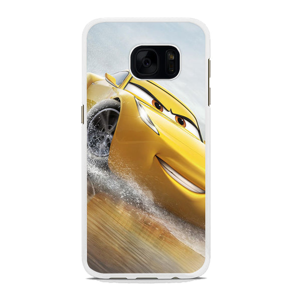 Cars Cruz Ramirez Yellow Samsung Galaxy S7 Edge Case