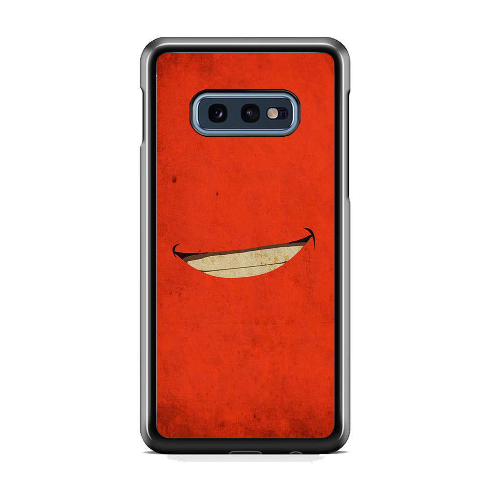 Cars Mc Queen Smile Samsung Galaxy S10E Case