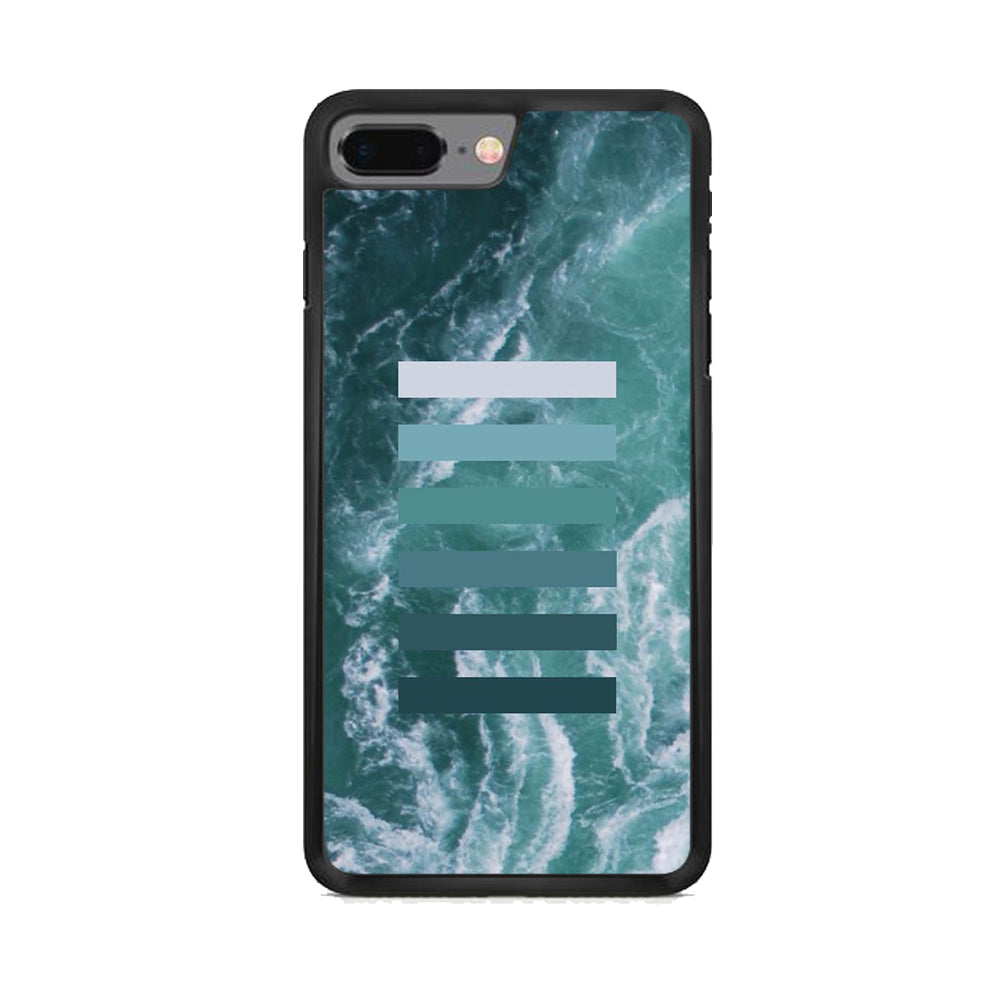 Colour Gradation Ocean iPhone 8 Plus Case