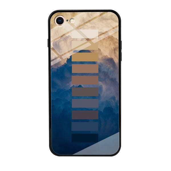 Colour Sunset Cloud Gradation iPhone 8 Case