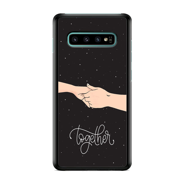 Couple Hand Midnight Samsung Galaxy S10 Case