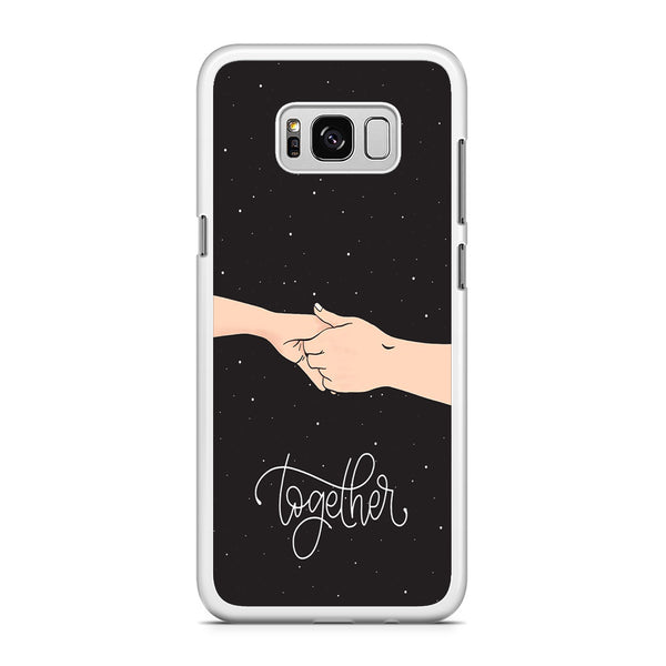 Couple Hand Midnight Samsung Galaxy S8 Case