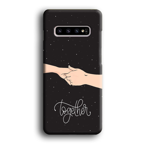 Couple Hand Midnight Samsung Galaxy S10 Plus Case
