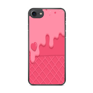 Cream Strawberry Waffer iPhone 8 Case