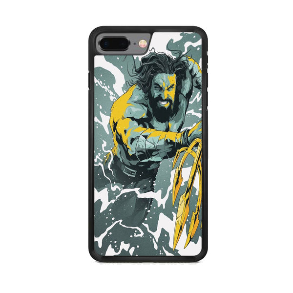 DC Aquaman Battle Cartoon iPhone 8 Plus Case