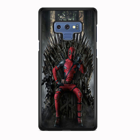 Deadpool Iron Throne Samsung Galaxy Note 9 Case