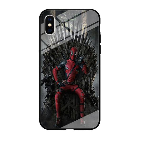 Deadpool Iron Throne iPhone XS Case