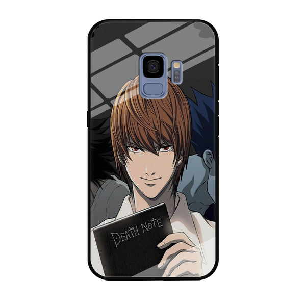 Death Note Light Yagami Samsung Galaxy S9 Case