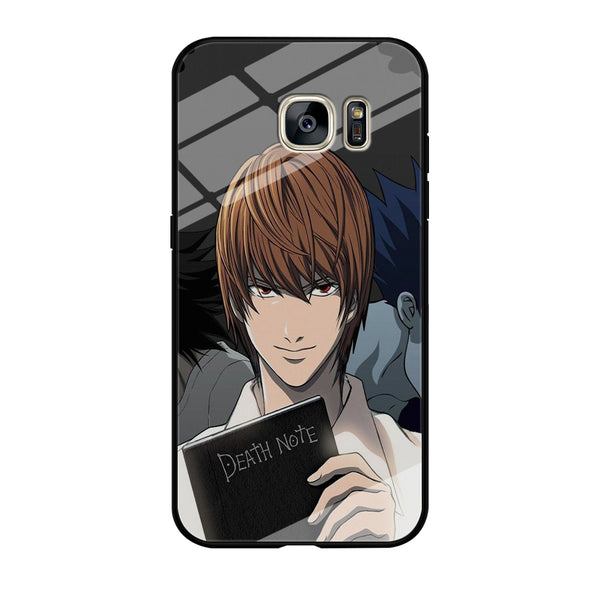 Death Note Light Yagami Samsung Galaxy S7 Edge Case