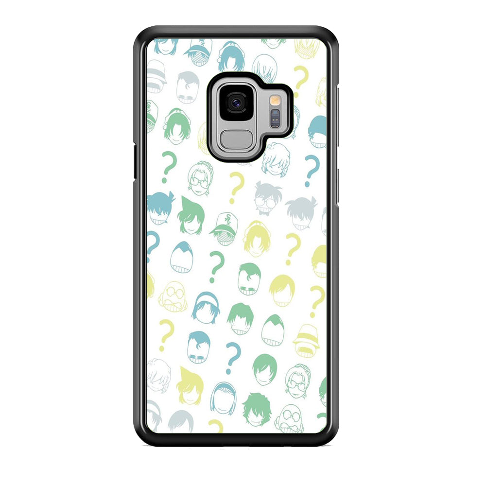 Detective Conan Doodle Character Samsung Galaxy S9 Case