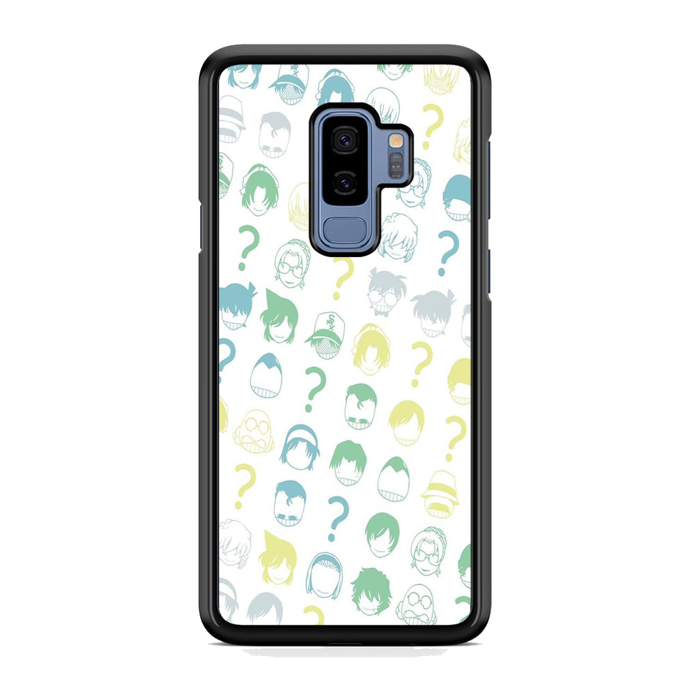 Detective Conan Doodle Character Samsung Galaxy S9 Plus Case