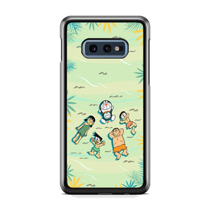 Doraemon Quality Time With Friends Samsung Galaxy S10E Case
