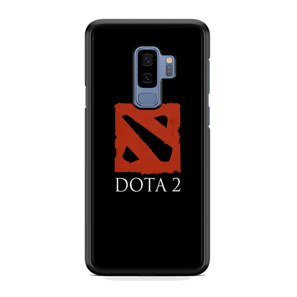 Dota Black Logo Samsung Galaxy S9 Plus Case