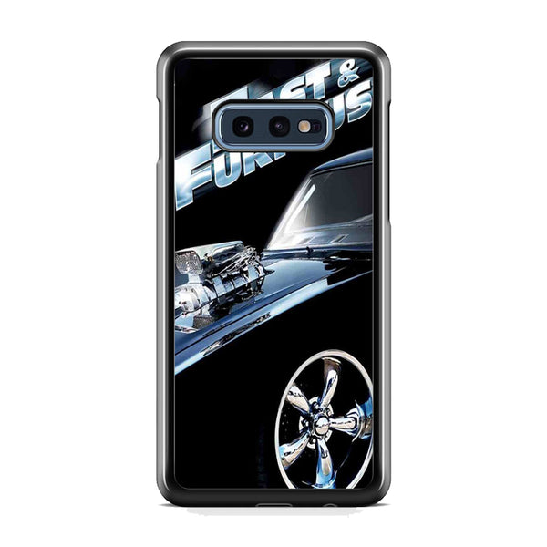 Fast & Furious Black Car Samsung Galaxy S10E Case