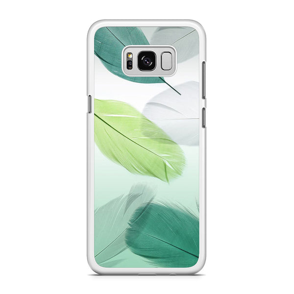 Feather Green Combination Samsung Galaxy S8 Plus Case