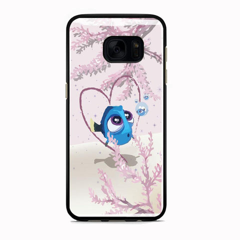 Finding Dory Love Wallpaper Samsung Galaxy S7 Edge Case