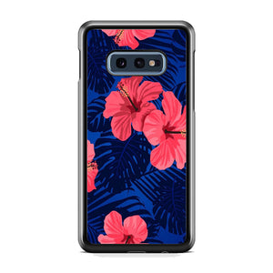 Flowers Gumamela Blue Night Samsung Galaxy S10E Case