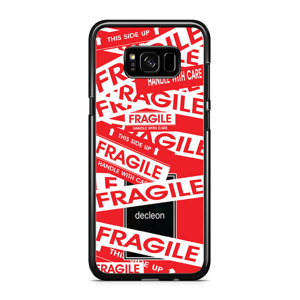 Fragile Decleon Red Scarlet Samsung Galaxy S8 Case