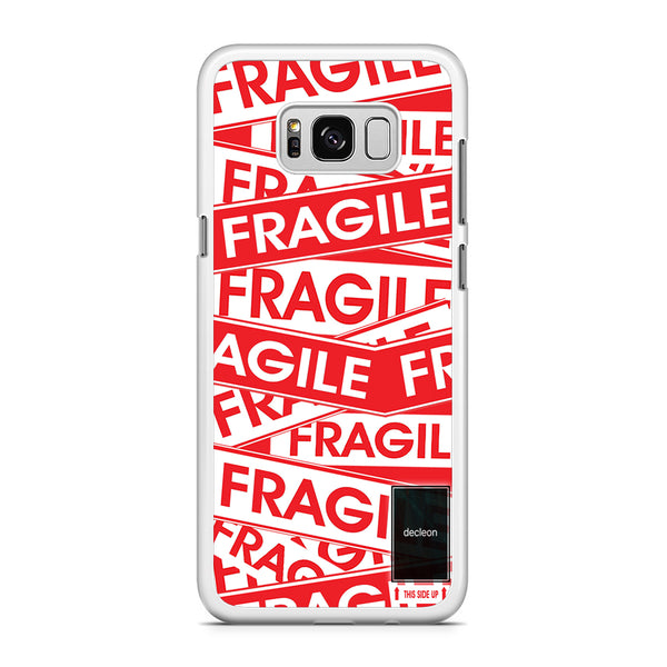 Fragile Label Decleon Frame Samsung Galaxy S8 Plus Case