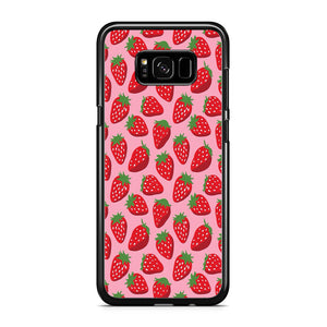 Fruit Fresh Strawberry Samsung Galaxy S8 Plus Case