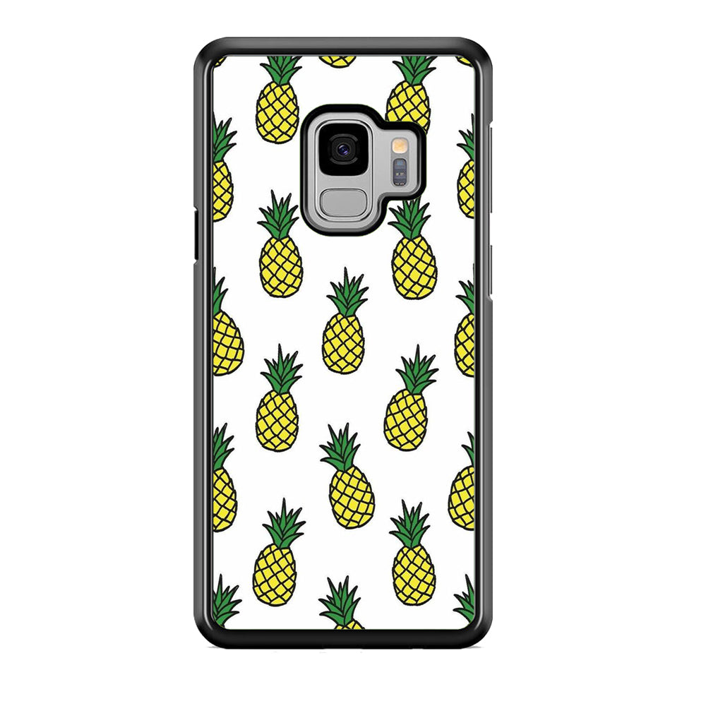 Fruit Pineapple Doodle Samsung Galaxy S9 Case