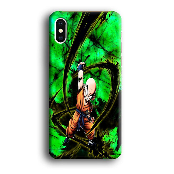 Goku Krillin Beattle Style Power Full iPhone XS MAX Case