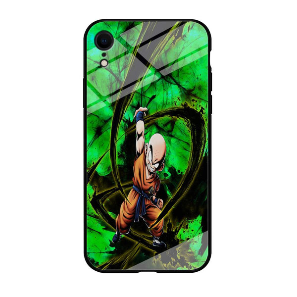 Goku Krillin Beattle Style Power Full iPhone XR Case