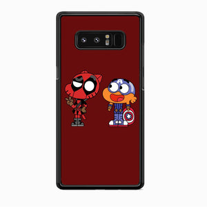 Gumall And Darwin Marvel Samsung Galaxy Note 8 Case