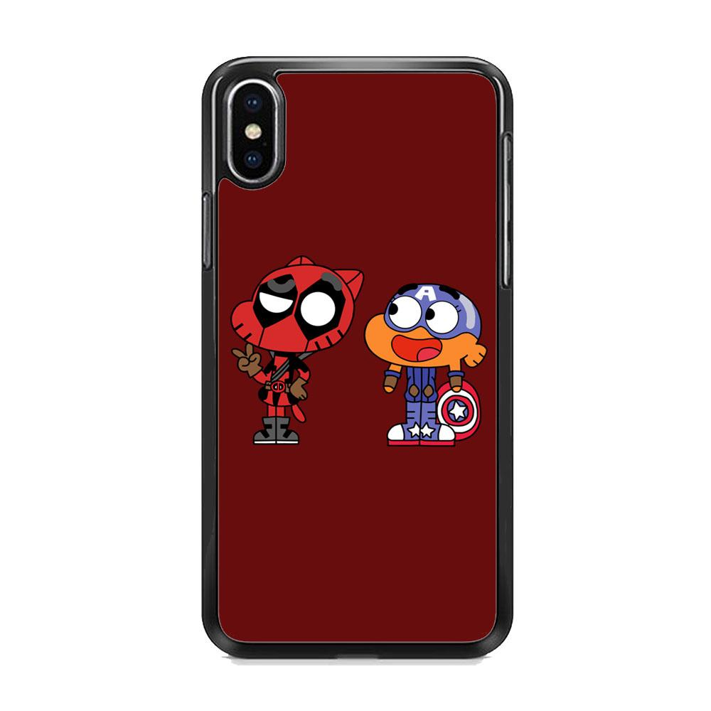 Gumall And Darwin Marvel iPhone XS Case