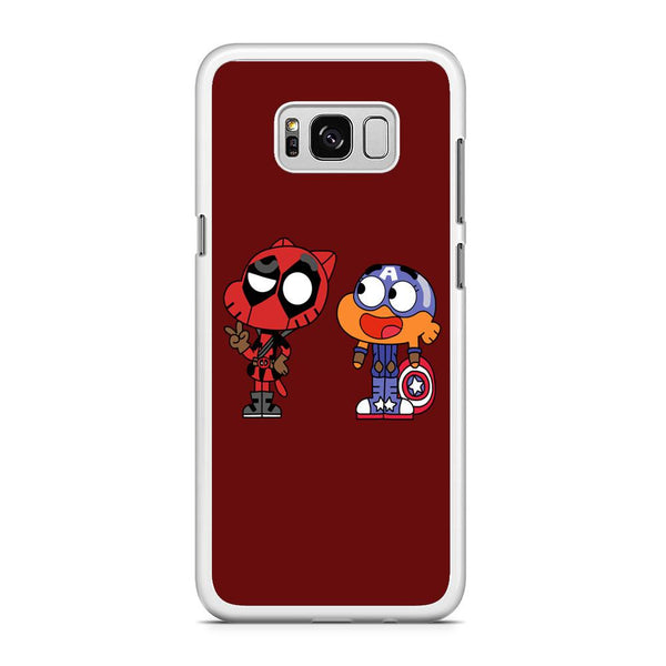 Gumall And Darwin Marvel Samsung Galaxy S8 Plus Case