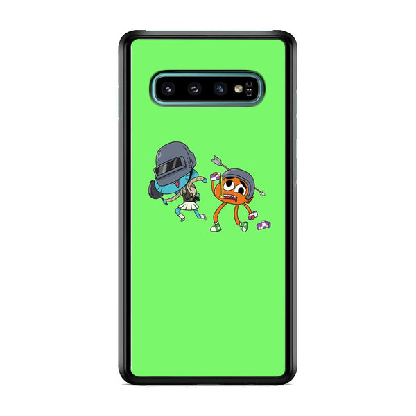 Gumall And Darwin Play Beattle Samsung Galaxy S10 Case