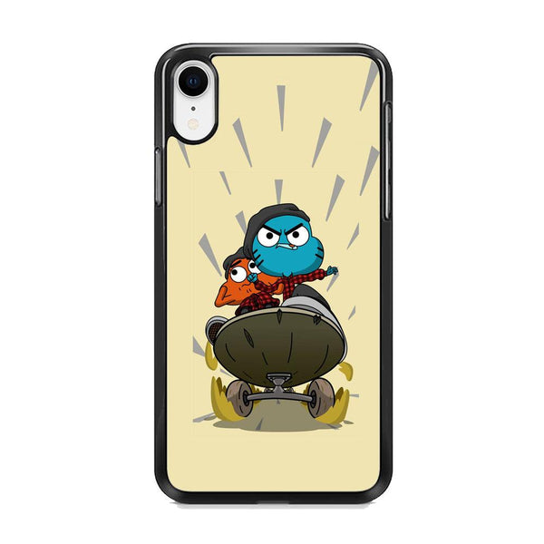 umall And Darwin Playing Skate iPhone XR Case