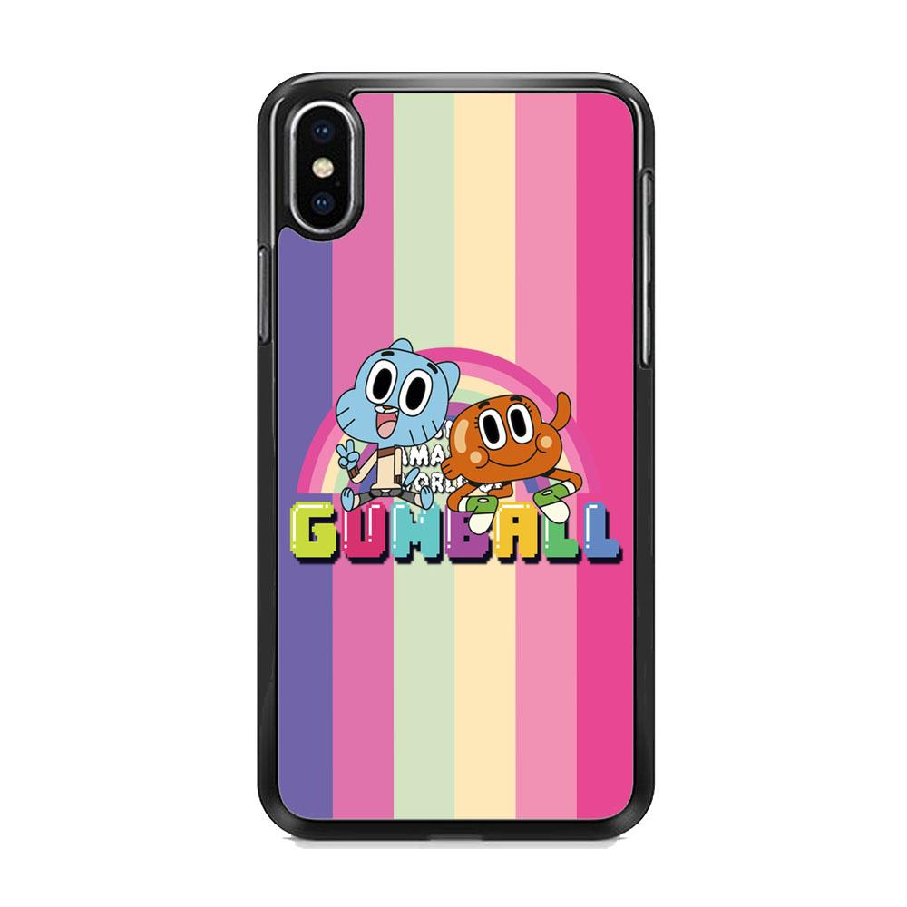 Gumall And Darwin Rainbows iPhone XS MAX Case