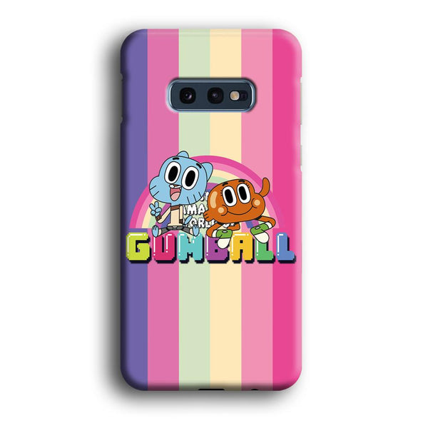 Gumall And Darwin Rainbows Samsung Galaxy S10E Case