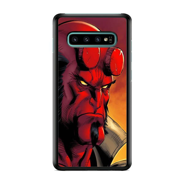 Hellboy Close Up Samsung Galaxy S10 Plus Case