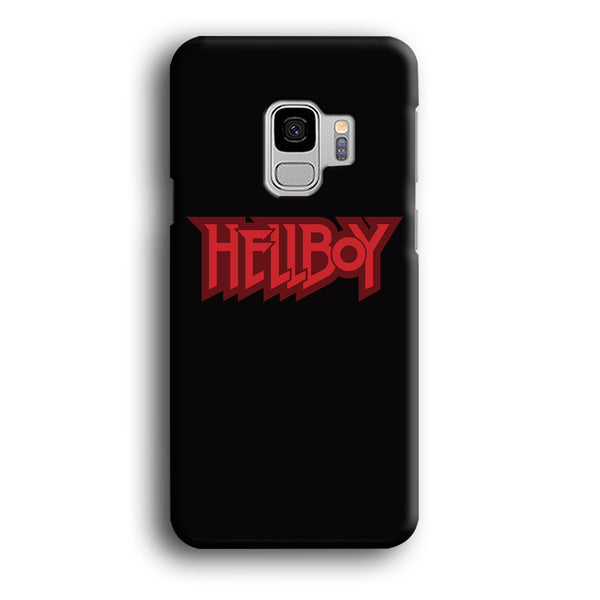 Hellboy Midnight Grey Logo Samsung Galaxy S9 Case