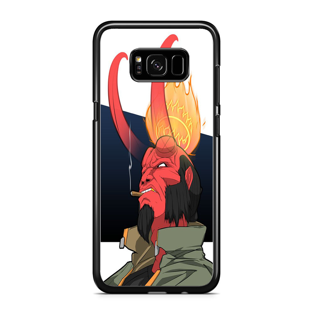 Hellboy Smoker Samsung Galaxy S8 Case